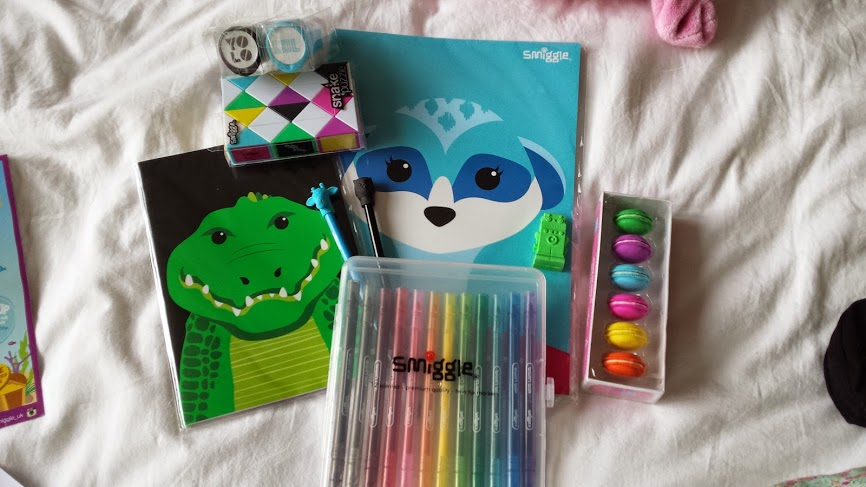 My Smiggle Goodies