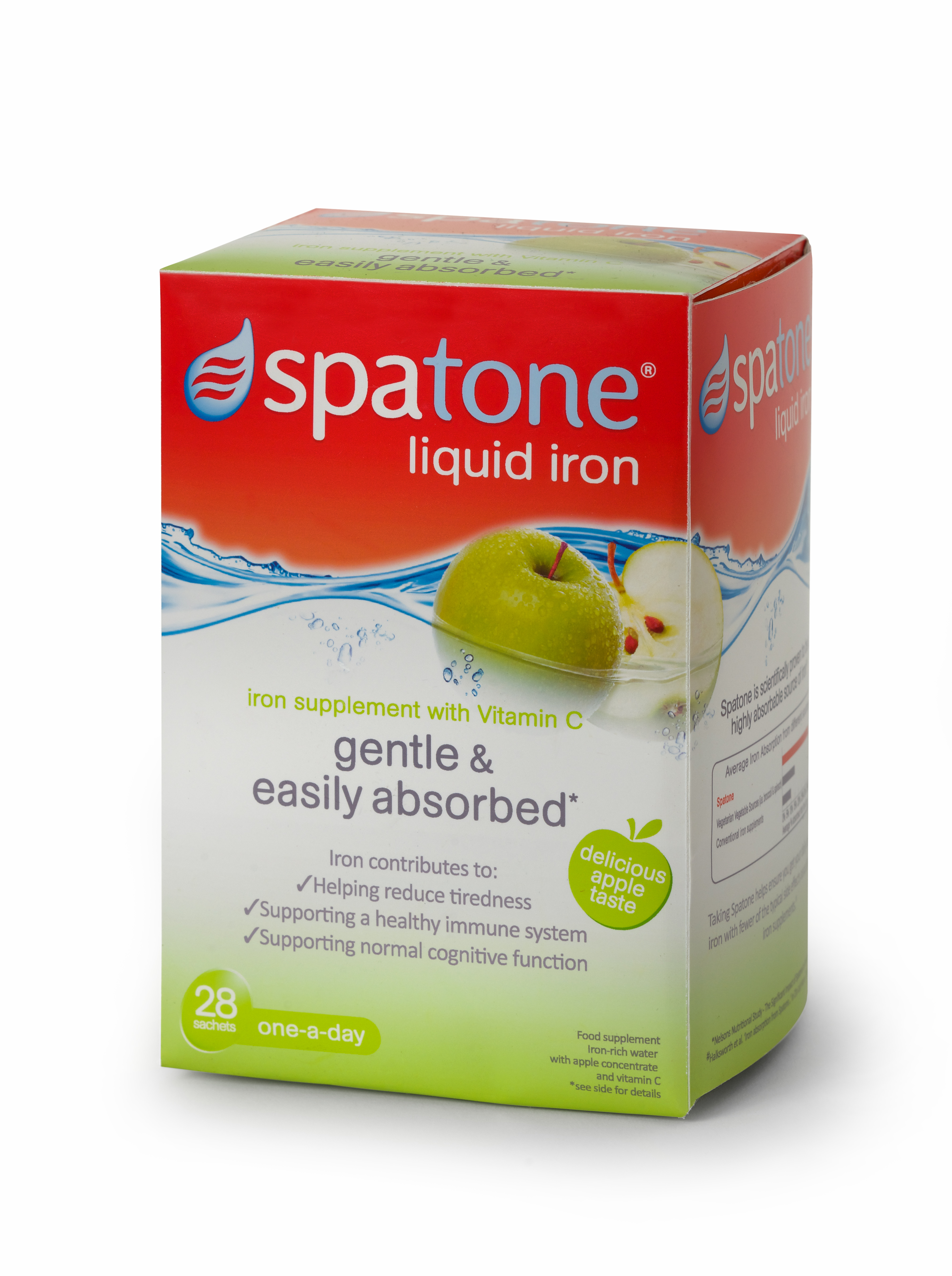 Win a Month Supply of Spatone Apple