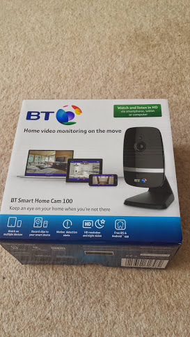 BT Smart Home Cam 100 boxed