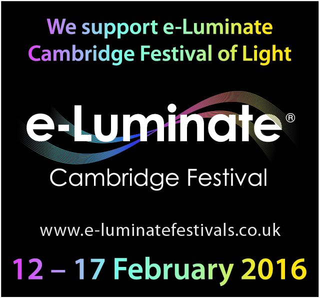 I'm an e-Luminate Cambridge Festival Blogger